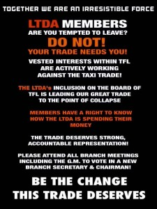 LTDA MEMBERS ARE YOU TEMPTED TO LEAVE?