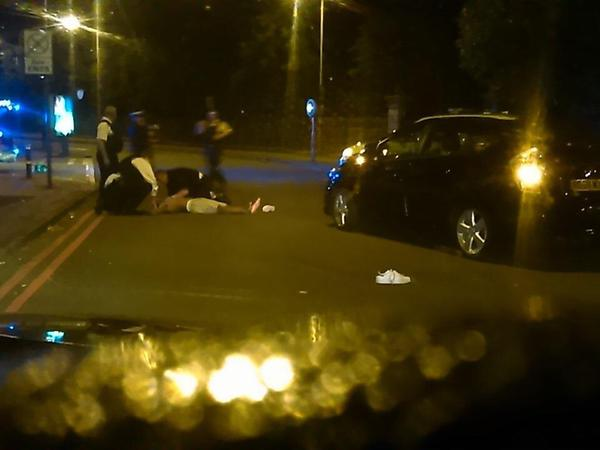 This poor guy died after being hit by a minicab